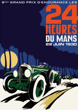 Poster Le Mans 1930
