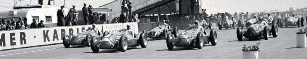 Gran Premio de Gran Bretaña de 1950. Circuito de Silverstone.
