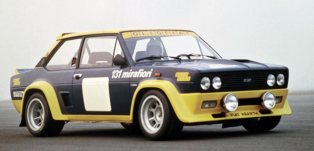 FIAT 131 Abarth, Foto: FIAT
