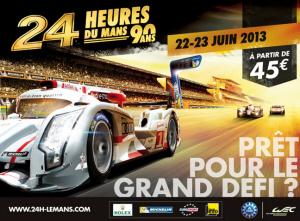 Poster Le Mans 2013