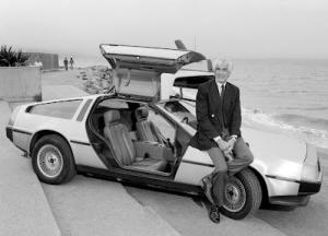 Biografía John DeLorean. DeLorean DMC-12