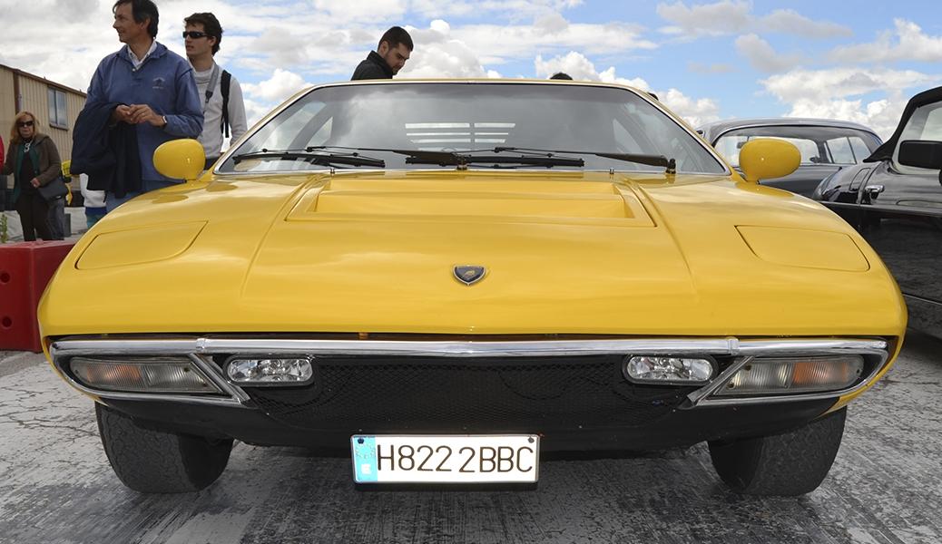 Lamborghini Urraco. Foto: Aaron Castellano, Jarama Vintage Festival, Junio de 2013