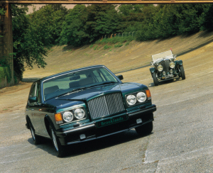 Bentley Motors. Bentley Brooklands de 1992