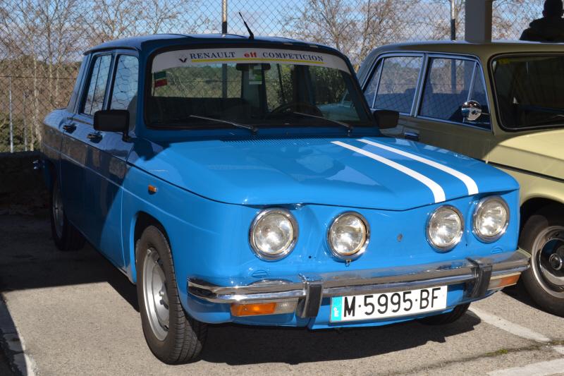 Renault 8. Foto: ClassicAuto Madrid, Feb. 2014. Sheyla RG