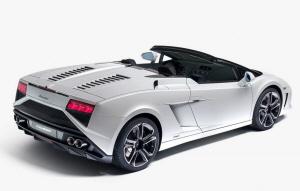 Lamborghini Gallardo Spyder. Foto: lamborghini