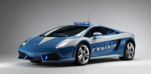 Lamborghini Gallardo. Polizia Stradale