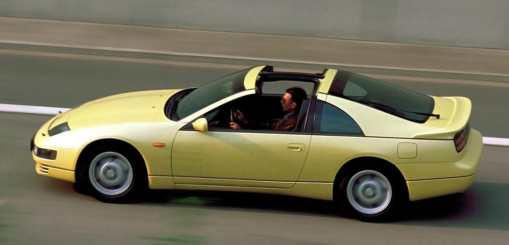 Targa con techo abierto, Foto: Nissan