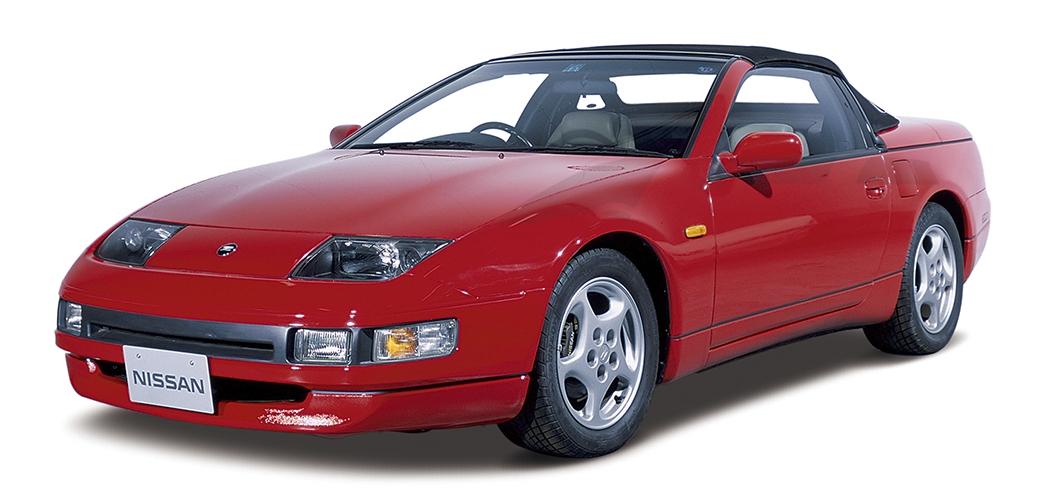 Cabrio, vista frontal. Foto: Nissan