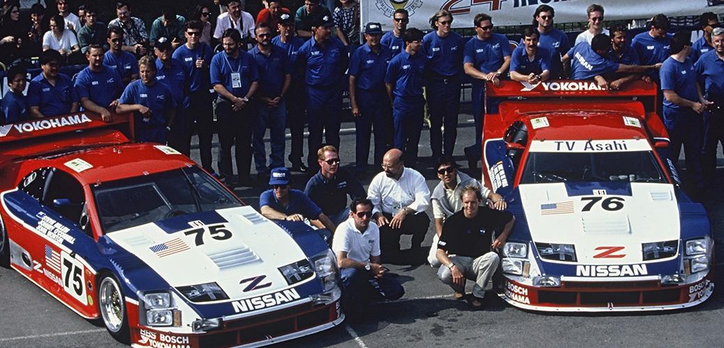 Victoria de Le Mans. Steve Millen Racing. Foto: Nissan