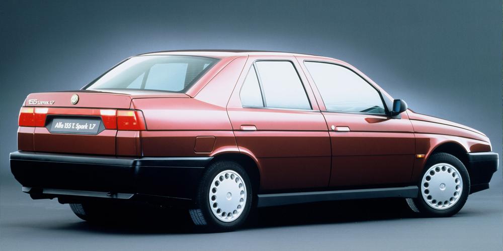 Alfa Romeo 155 1.7 Twin Spark (1992-1995), Foto: Alfa Romeo