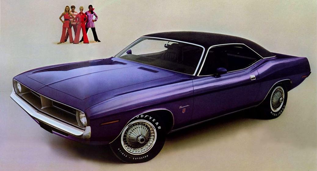 Plymouth Barracuda Serie 3, Foto: Recorte de publicidad de 1970