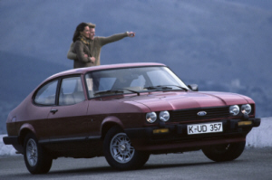 Ford Capri Mk3 Ghia. Foto: Ford Motor Company