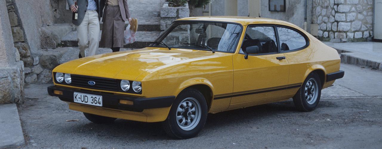Ford Capri III 1.6 L, 1978; Foto: Ford