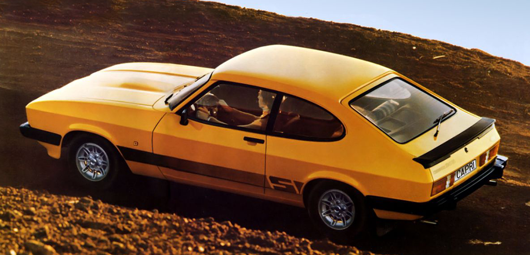 Ford Capri III 2.0S; Foto: Ford