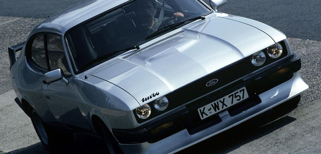 Foto: Capri Turbo. Ford Motor Company