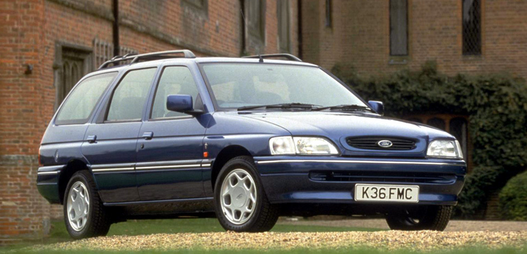 Ford Escort Mk5 Familiar tras el Restyling de 1992. Foto:Ford