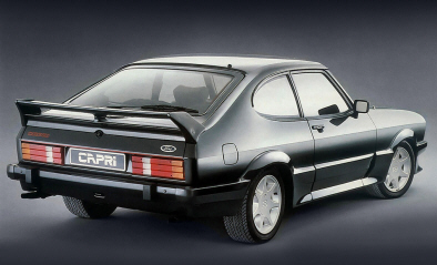 Ford Capri Mk3 con Kit RS. Foto: Ford Motor Company