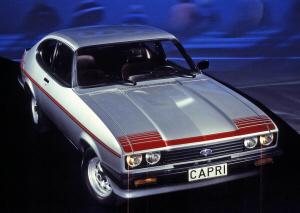 Ford Capri Mk3 GT4, 1980. Foto: Ford Motor Company