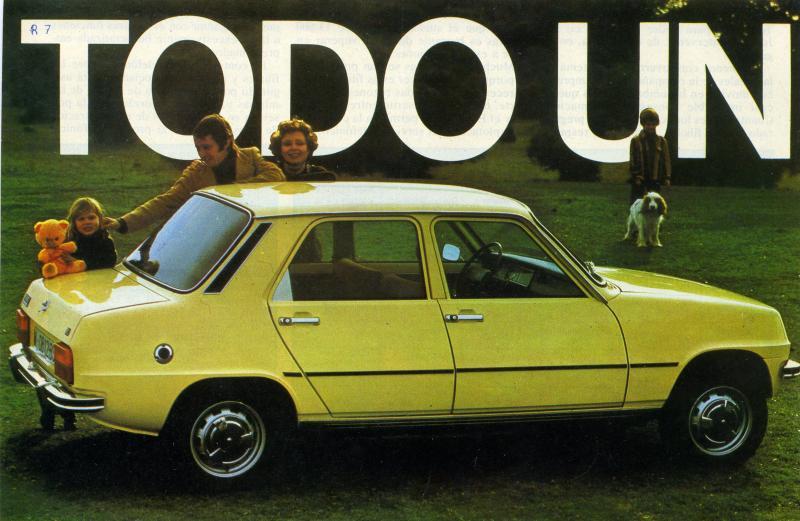Foto: Catálogo R7. Renault