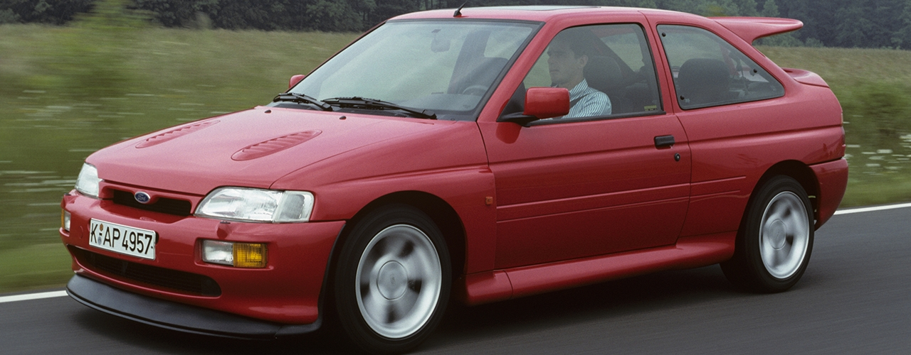 Ford Escort Cosworth. Foto: Ford Motor Comany
