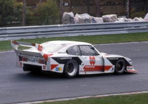Foto: Ludwig con el Zakspeed de 1981 Ford Motor Company