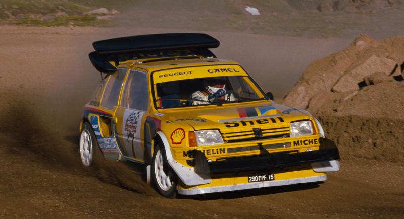 Foto: Zanussi, Pikes Peaks 1987. Peugeot