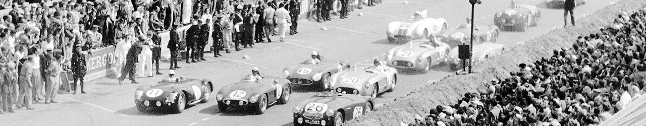 24 Horas de Le Mans de 1955 Foto: Daimler AG