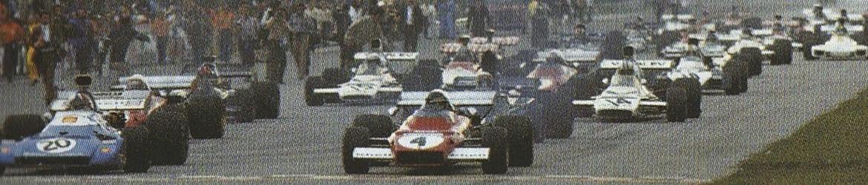 Fórmula 1 1972, Salida Gran Premio de Italia, Foto: Dominio público