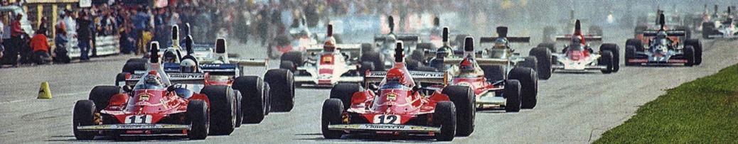 Fórmula 1 1975, Salida Gran Premio de Italia, Foto: Dominio público