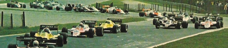 Fórmula 1 1987, Salida Gran Premio de Italia, Foto: Dominio público