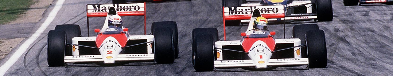 Fórmula 1 1989, Salida Gran Premio de Italia, Foto: Dominio público
