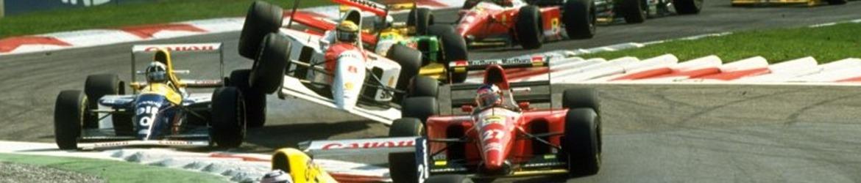 Fórmula 1 1993, Salida Gran Premio de Italia, Foto: Dominio público