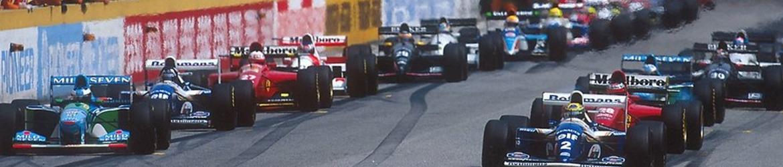 Fórmula 1 1994, Salida Gran Premio de San Marino, Foto: Dominio público
