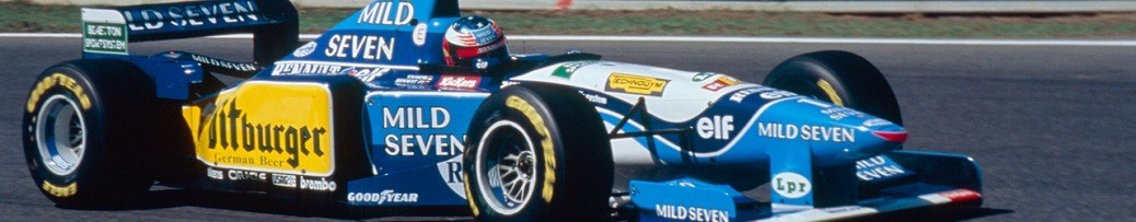 Fórmula 1 1995, Michael Schumacher con su Benetton, Foto: Renault