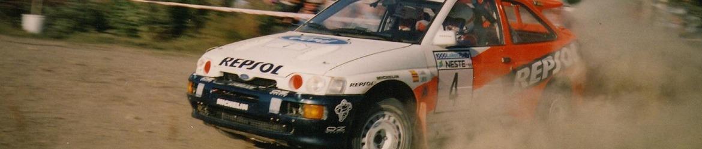WRC 1996, Carlos Sáinz en el Rally de Finlandia Foto: Masa22 CC 2.0 Atribution