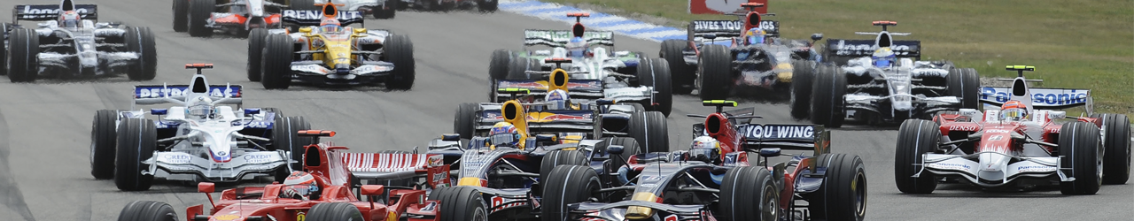 Salida Gran Premio de Alemania, 2008. Foto: Ferrari