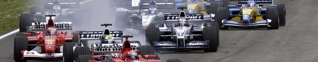 Fórmula 1 2004, Salida Gran Premio de San Marino. Foto: Ferrari