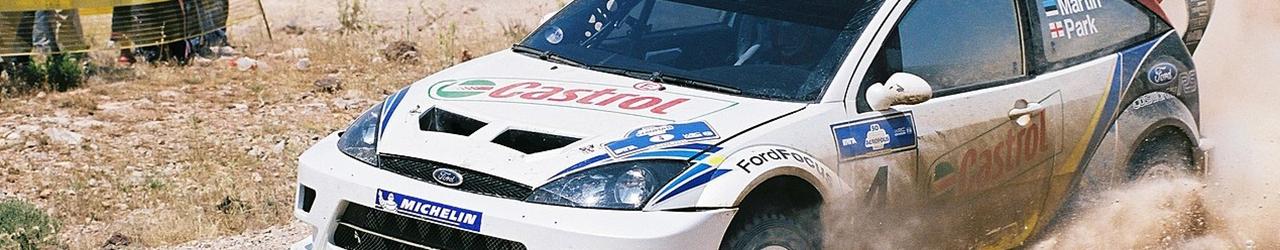 WRC 2003. Rally Acrópolis, Martin, Foto: Nickgleris