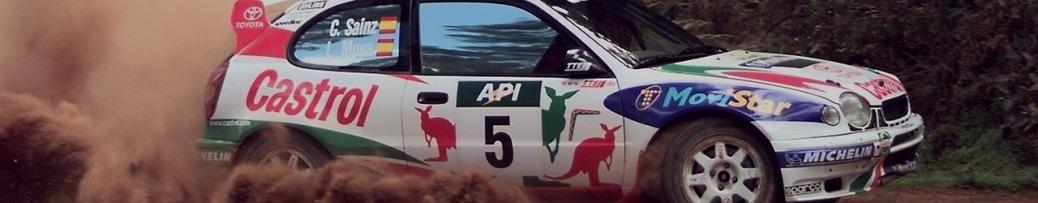 WRC 1998, Carlos Sáinz, en el Rally de Australia, Foto: Toyota