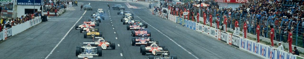 Salida Gran Premio de Francia de 1983. Foto: Renault SAS