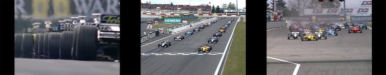 Fórmmula 1 1999, Fotogramas de la retransmisión de la salida del Gran Premio de Europa