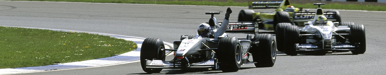 Fórmula 1 2000. Victoria de David Coulthard en el Gran Premio de Gran Bretaña. Foto: Daimler