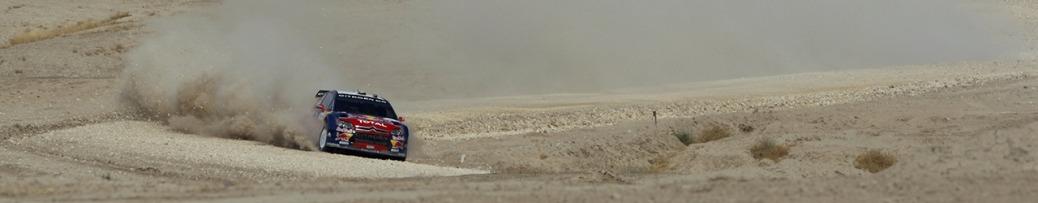 WRC 2008, Rally de Jordania, Foto: Redbull