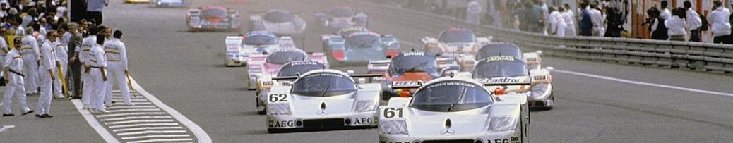 24 Horas de Le Mans 1989, Foto: Daimler AG