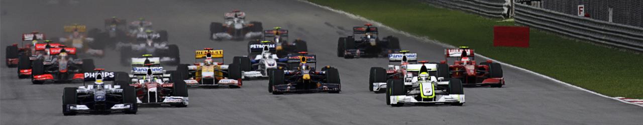 Salida Gran Premio de Malasia 2009, Foto: Red Bull