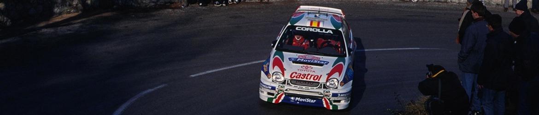 WRC 1999. Sáinz en el Rally de Montecarlo, Foto: WRC 60, Licencia de Documentación Libre GNU.