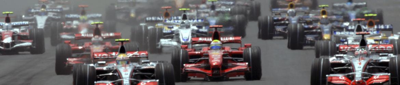 Salida, Gran Premio de Estados Unidos 2007, Foto: Ferrari