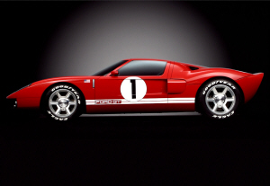 Ford GT. Concept GT40 de 2002. Ford