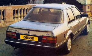 Ford Orion Mk1 1.3 GL 1983. Imágen de catálogo