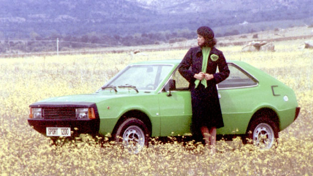 Seat 1200 Sport. Imagen promocional. SEAT